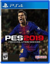 Pro Evolution Soccer 2019 PES - Seminovo - PS4