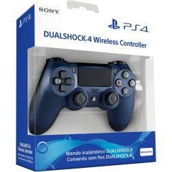 Controle DualShock 4 Azul Midnight Edition - PS4