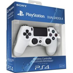 Controle DualShock 4 White Edition - PS4