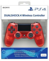 Controle DualShock 4 Red Crystal Edition - PS4