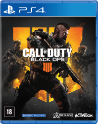 Call of Duty Black Ops 4 - Seminovo - PS4