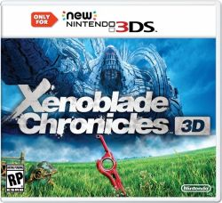 Xenoblade Chronicles - Seminovo - New Nintendo 3DS