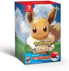 Bundle Pokemon Lets Go Eevee Pokeball Plus - Nintendo Switch