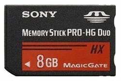 Memory Stick Pro 8GB para PSP + brindes