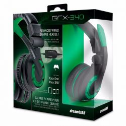 Headset Dreamgear GRX-350 Stereo - Verde - Compatível com Playstation 4, PS Vita, Xbox 360, Xbox One, Nintendo Switch