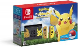 Console Nintendo Switch Bundle- Pikachu & Eevee Edition with Pokemon: Let