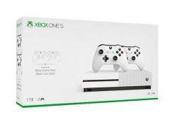 Console Xbox One S 4K 1TB c/ 2 Controles