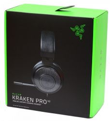 Headset Razer Kraken Pro V2 - Preto - PS4 / Xbox One / Switch