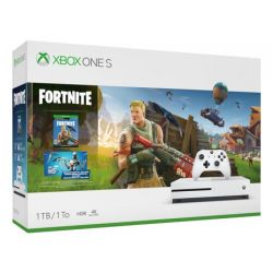 Console Xbox One S 4K 1TB Branco + Pacote Fortnite - Xbox One
