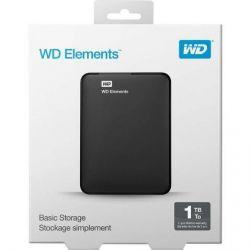 HD Externo Portátil WD Elements SE 1TB USB 3.0 - WDBEPK0010BBK