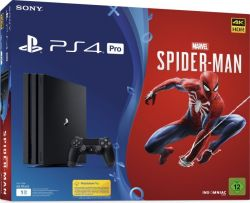 Console Sony Playstation 4 PRO 4K 1TB Spider-Man Bundle - PS4
