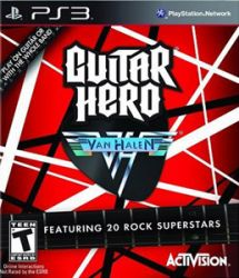 Guitar Hero Van Halen - Seminovo - PS3