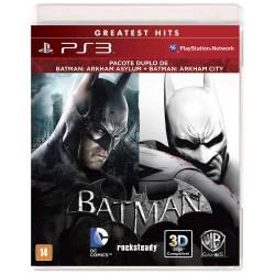 Batman: Bundle Arkham Asylum + Arkham City - Seminovo - PS3
