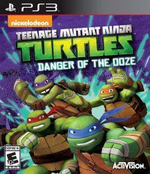 Teenage Mutant Ninja Turtles: Danger of the Ooze - Seminovo - PS3