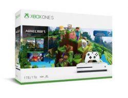 Console Xbox One S Minecraft 4K 1TB
