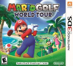 Mario Golf World Tour - Seminovo - Nintendo 3DS