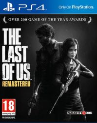 The Last of Us: Remastered - PS4 (Case de Papel)