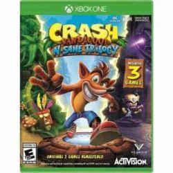 Crash Bandicoot N. Sane Trilogy - Seminovo - Xbox One