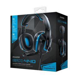 Headset DreamGEAR GRX-440 - Preto e Azul c/ Fio