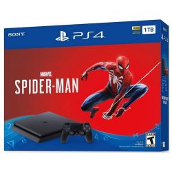 Console Playstation 4 Slim 1TB c/ Jogo Spider-Man - PS4