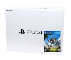 Playstation 4 Slim 500GB + Horizon: Zero Dawn - Caixa Branca - PS4