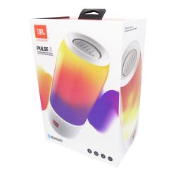 Caixa de Som JBL Pulse 3 - White Led