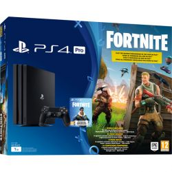 Console Sony Playstation 4 PRO 4K 1TB Fortnite Bundle - PS4