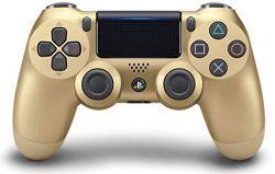 Controle DualShock 4 Gold Dourado - Seminovo - PS4
