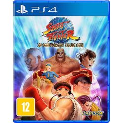 Street Fighter: 30th Anniversary Collection - Seminovo - PS4