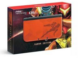 New Nintendo 3DS XL Console Edição Metroid Samus