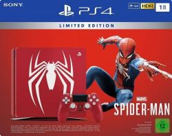 Console Playstation 4 Slim 1TB Limited Edition c/ Jogo Spider-Man - PS4