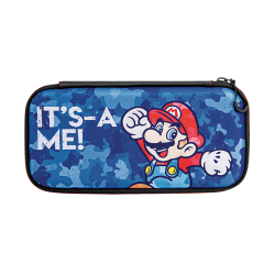 Slim Travel Case Mario Camo Edition - Nintendo Switch