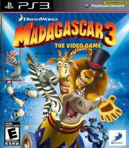 Madagascar 3: The Videogame - Seminovo - PS3