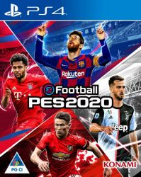 EFootball Pro Evolution Soccer 2020 PES - PS4