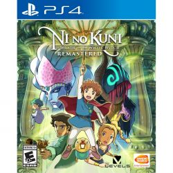Ni no Kuni: Wrath of the White Witch Remastered - PS4 (Pré-venda)