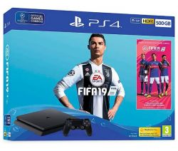 Console Playstation 4 Slim 500GB + FIFA 2019 - PS4