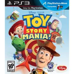 Toy Story Mania! - Seminovo - PS3