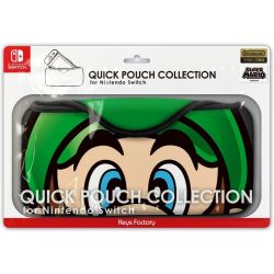Case Quick Pouch Collection Luigi- Super Mario Edition - Nintendo Switch