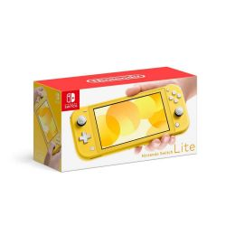 Console Nintendo Switch Lite Neon Yellow - Nintendo Switch