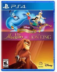Disney Classic Games: Aladdin and The Lion King  - PS4 (Pré-venda)