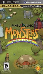 PixelJunk Monsters Deluxe - Seminovo - PSP (S/ Case)