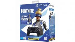 Controle DualShock 4 Preto + Voucher Fortnite - PS4