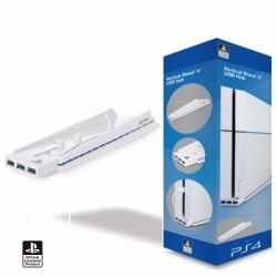 Vertical Stand & Hub USB - PS4
