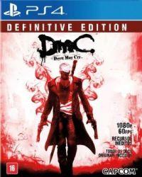 Devil May Cry DMC  - Definitive Edition - Seminovo - PS4