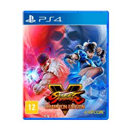 Street Fighter V - Champion Edition - PS4 (Pré-venda)