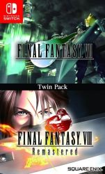 Final Fantasy VII & Final Fantasy VIII Remastered - Twin Pack - Nintendo Switch