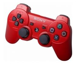 Controle Dualshock 3 Original Sony Vermelho - Seminovo - PS3