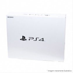 Console Playstation 4 Slim 500GB - PS4 (Caixa Branca)