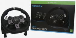Volante G920 - Driving Force - Logitech - Xbox One / PC - Seminovo