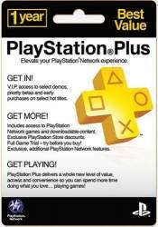 Cartão PSN Plus 12 Meses USA